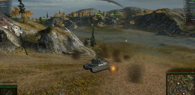 ずううっと戦車乗っとります。